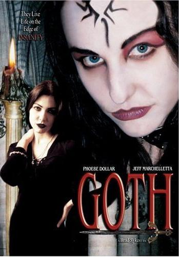 Goth movie poster