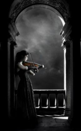 Готическая музыка абстракция