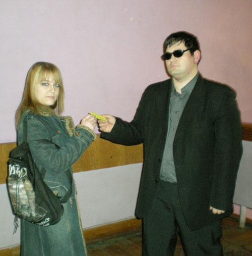 Награждение победиля конкурса Gothic.zp.ua на самого активного участника форума